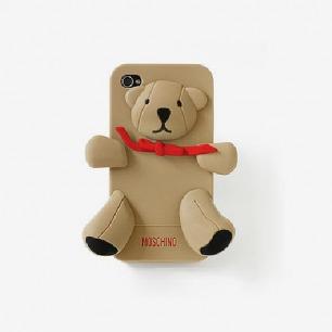 moschino泰迪熊卡通手机壳